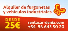 Rent a Car Denia 29/10/2020